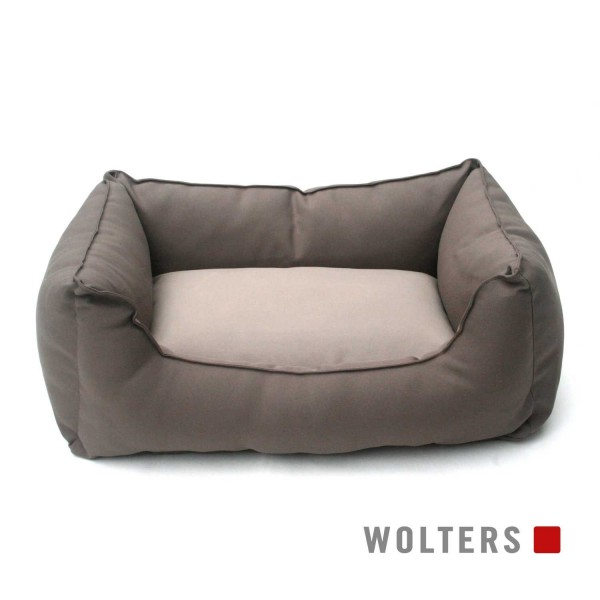 WOLTERS Basic Dog Lounge L 105 x 80cm mocca/sand