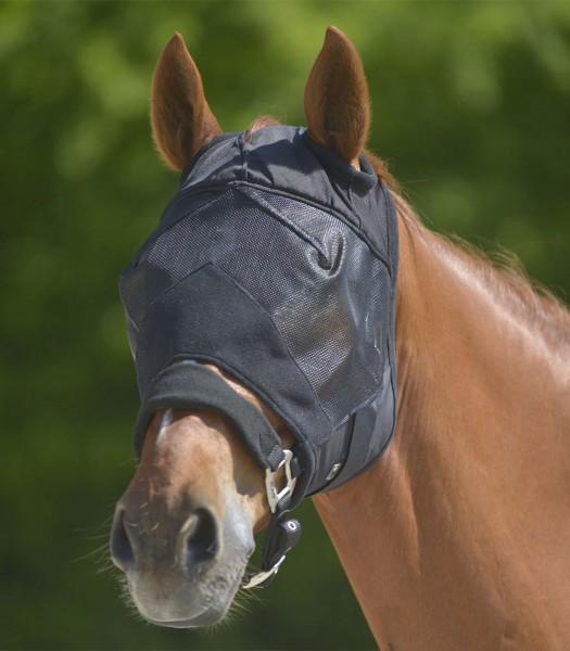 Fliegenmaske Premium ohne Ohrenschutz, sw, WB