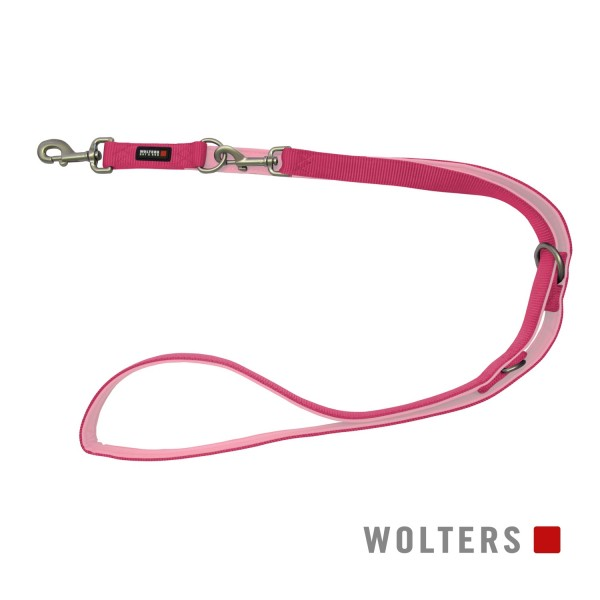 WOLTERS Leine Professional 200x15 himbeer/rosé