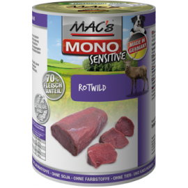 MAC´s Dog MONO Sensitive Rotwild 400g