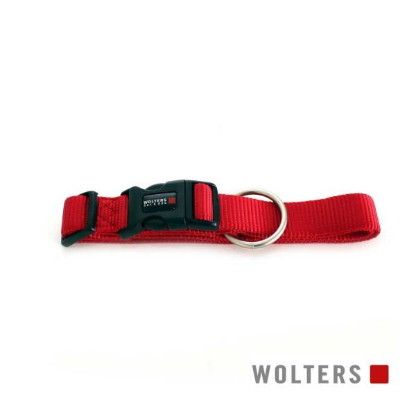 WOLTERS Halsband Prof extra breit M 28-40cm cayenn