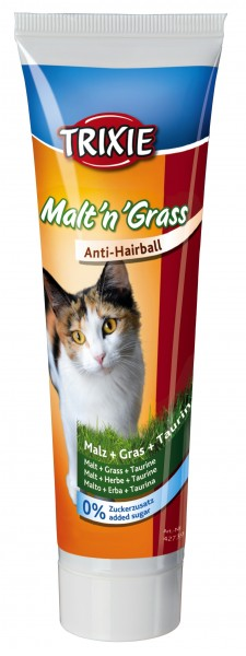Trixie Malt''n''Grass Anti-Hairball 100g