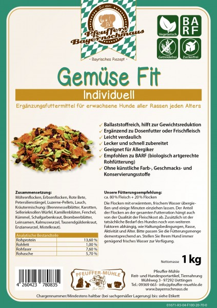 Pfeuffers Gemüse Fit 1kg