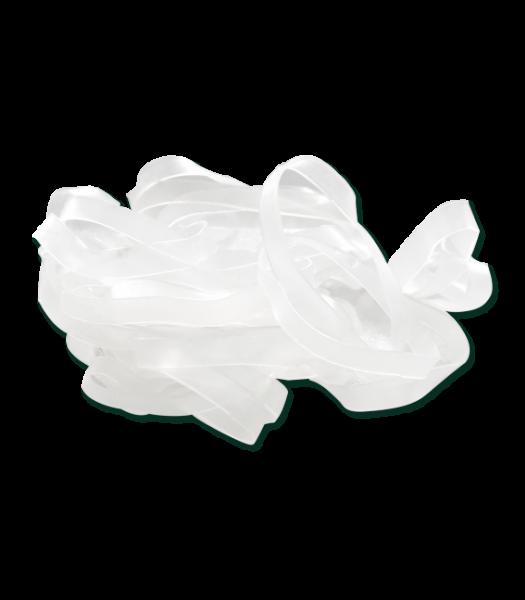 MÄHNENGUMMIS extra breit weiß 30 g