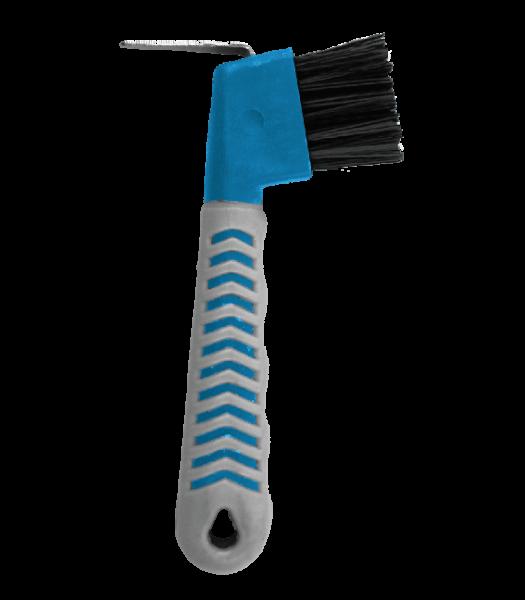 HOOF-PICK Hufkratzer GRIPPY azurblau/grau