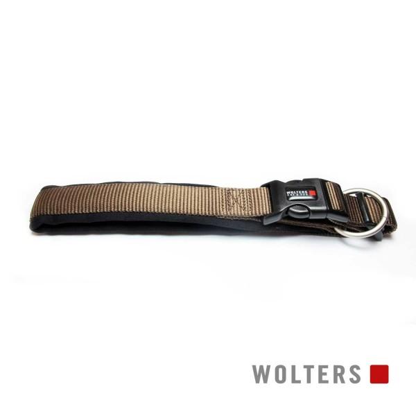WOLTERS Halsband Prof.Comf. 45-50cm tabac/schwarz
