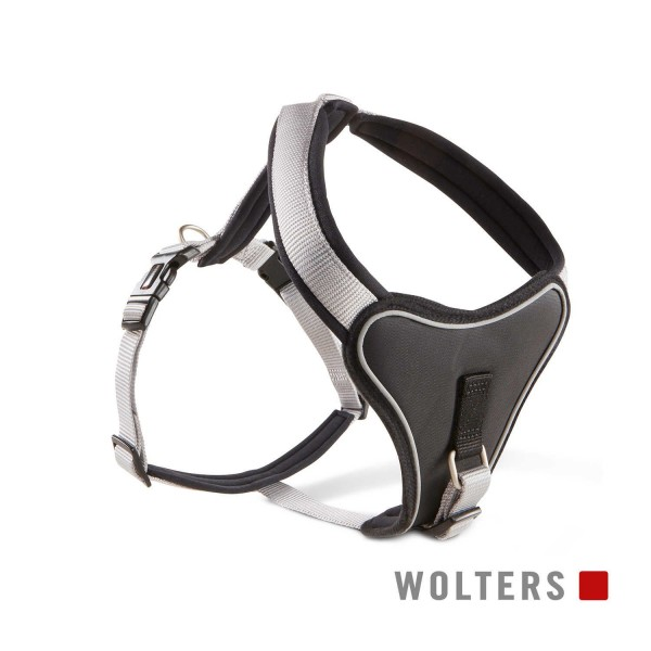 WOLTERS Geschirr Prof.Com 60-70cm silber/schwarz