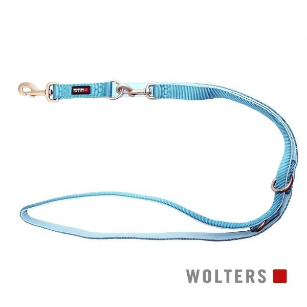 WOLTERS Leine Prof. Comf. 200cmx25mm aqua/azur