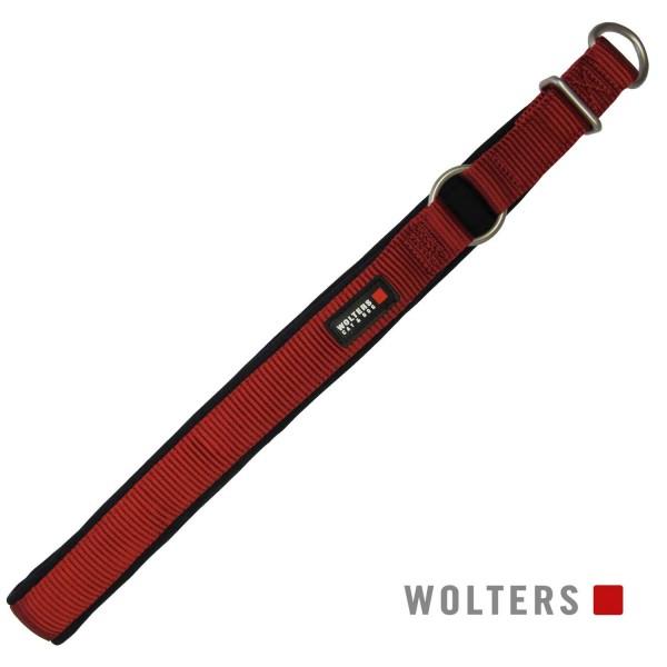 WOLTERS Schlupfhalsband Prof. Comfort 35cm rot/sw