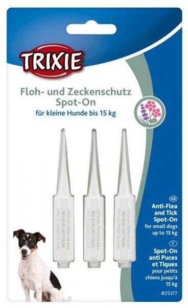 Floh und Zeckenschutz Spot On Hund bis 15kg 3x3ml