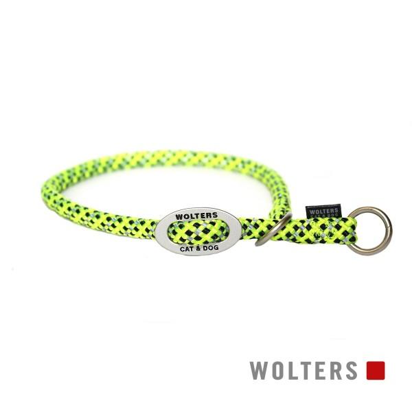 WOLTERS Schlupfhalsband reflekt gelb/ sw 35x9