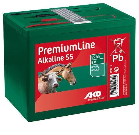 AKO-Batterie 55 Ah Alkaline
