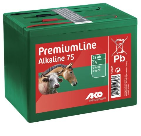 AKO-Batterie75 Ah Alkaline