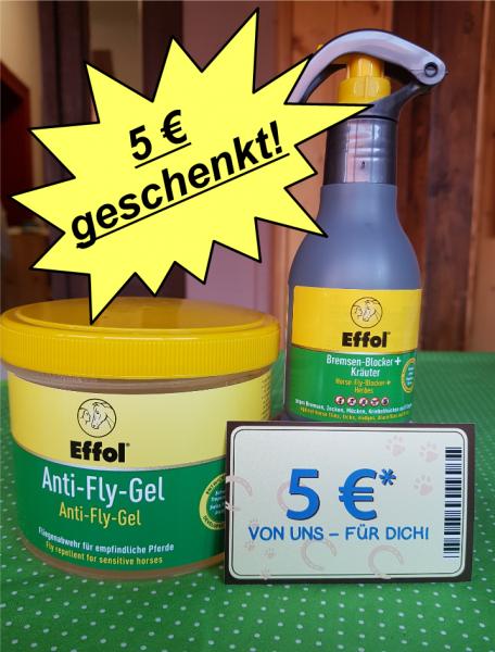 Effol Anti-Fly-Gel 500 ml + 125ml Bremsenblocker