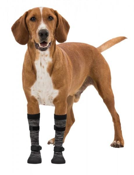 Pfotenschutz Walker Socks L schwarz grau 2 stk.