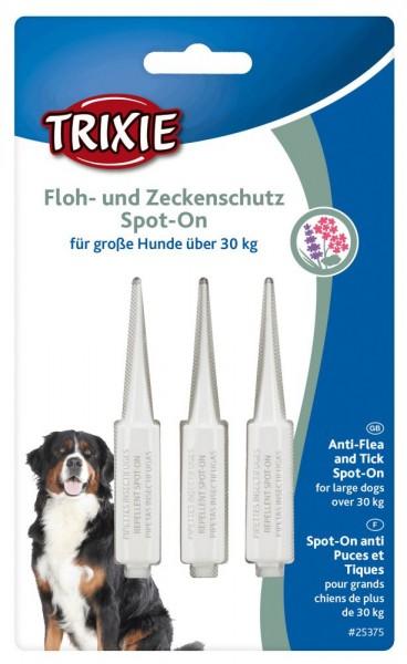 TRIXI Floh- und Zeckenschutz Spot On Hund 3x5ml