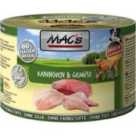 MAC´s Dog Kaninchen & Gemüse 200g