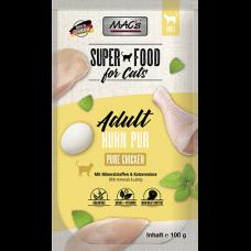 MAC´s Cat Pouch Pack Hühnchen pur mit Kräuter 100g