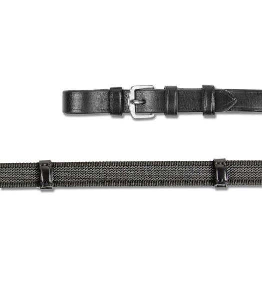 X-LINE ANTI-SLIP-ZÜGEL 19mm schwarz