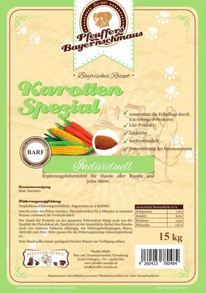 Pfeuffers Hundefutter Karotten-Spezial 15kg