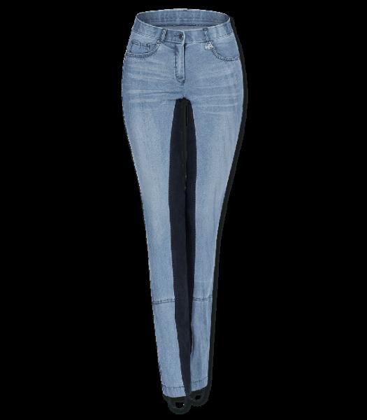 Jeans-Jodhpurreithose Harmony, blau, Gr. 42