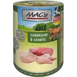 MAC´s Dog Kaninchen & Gemüse 400g