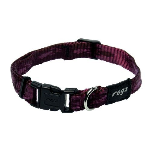 WOLTERS Halsband Alpinist Gr. S 19-28 cm brombeer