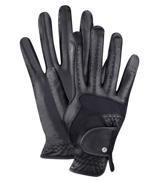 Reithandschuh PREMIUM Leder schwarz Gr. 8,0