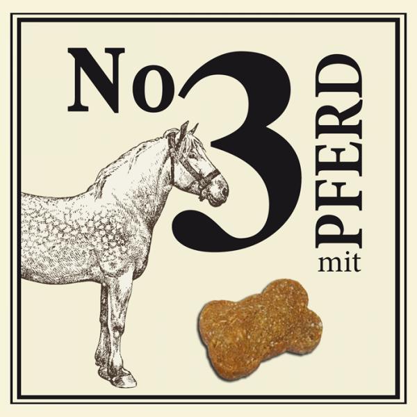 BUBECK No 3 mit Pferd gebacken ohne Getreide 210 g