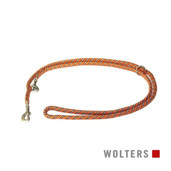WOLTERS Leine Everest reflekt or/schw 200x13