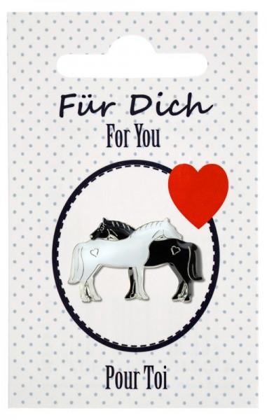 """Pferde-Pin """"Für Dich"""""""