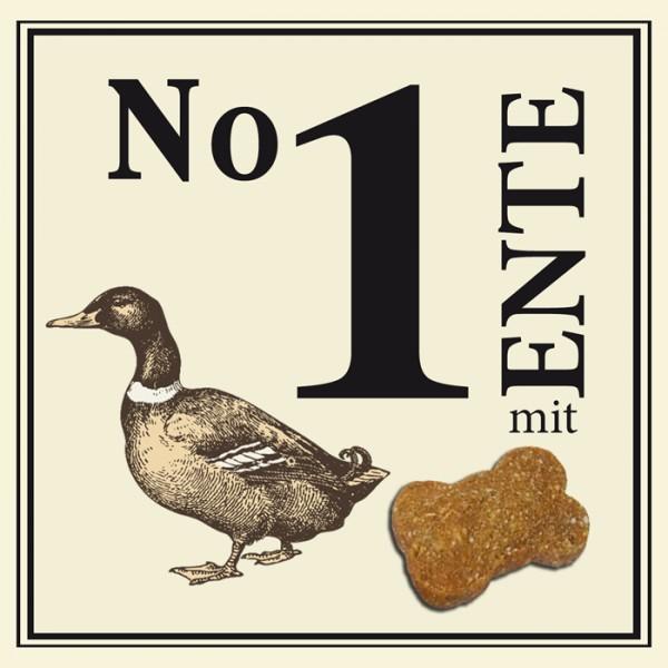 BUBECK No 1 mit Ente gebacken ohne Getreide 210 g