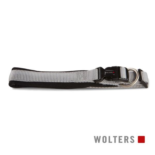 WOLTERS Halsband Prof. Comf 40-45cm silber/schwarz