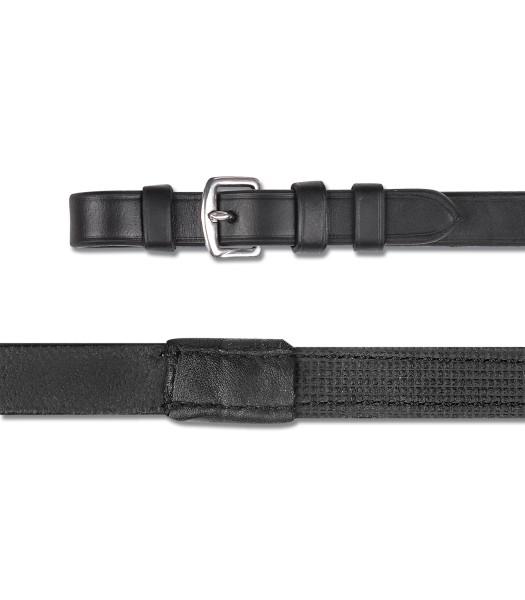 Leder/Gummizügel X-Line 16 mm, schwarz