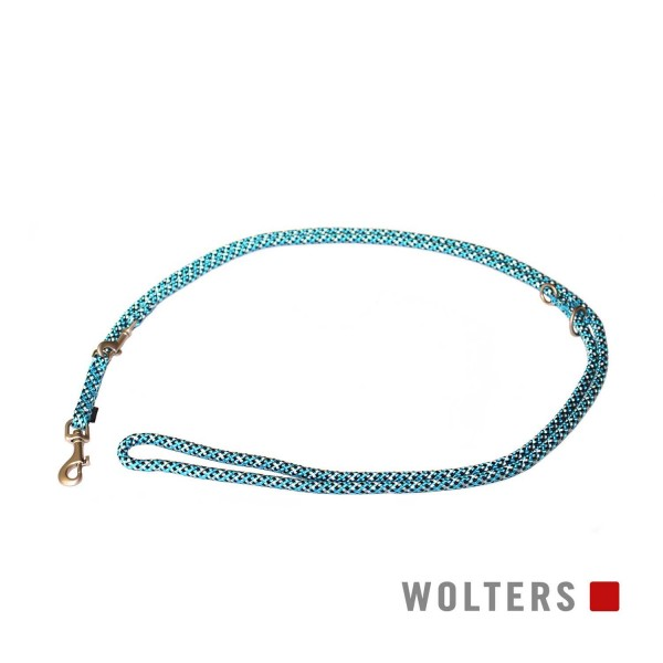 WOLTERS Leine Everest reflek. 300cmx9mm aqua/sw