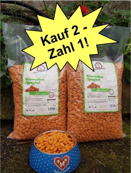 Pfeuffers Karotten-Spezial 2 x 2kg Sparpaket
