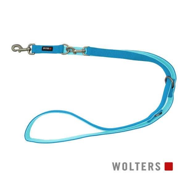 WOLTERS Leine Professional 200 cm, aqua/azur