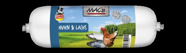 MAC´s Hund Wurst Huhn & Lachs 800g