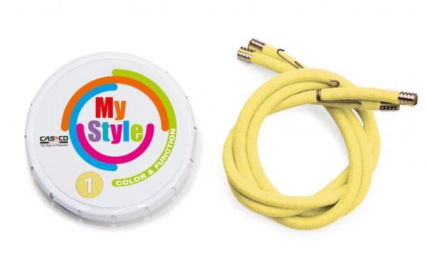 MyStyle Casco Streifen gelb Gr. 0