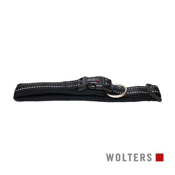 WOLTERS Halsband Soft&Safe reflek 40-45cm schw/sch