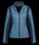 Fleecemixjacke Villach, brillantblau/nachtblau, M