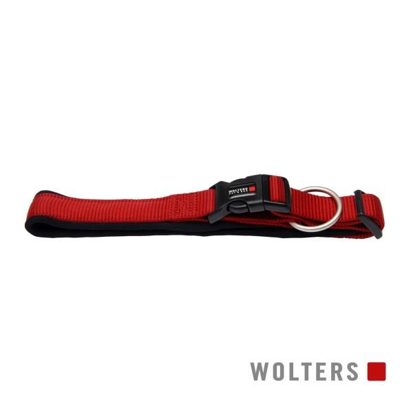 WOLTERS Halsband Prof. Comf 55-60 cm rot/schwarz