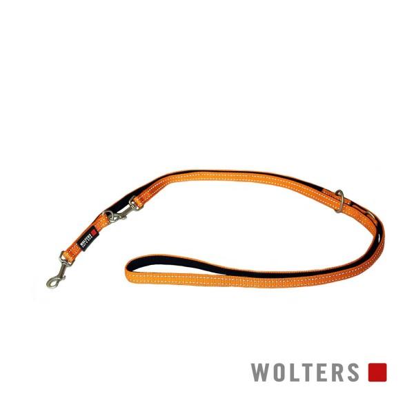 WOLTERS Leine Soft&Safe reflek 200cmx25mm oran/sch
