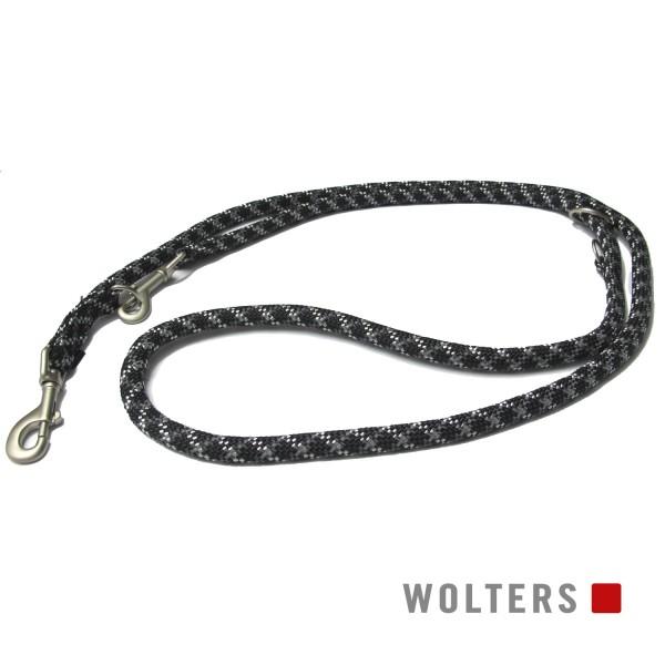 WOLTERS Leine Everest reflek schw/graph 200x13