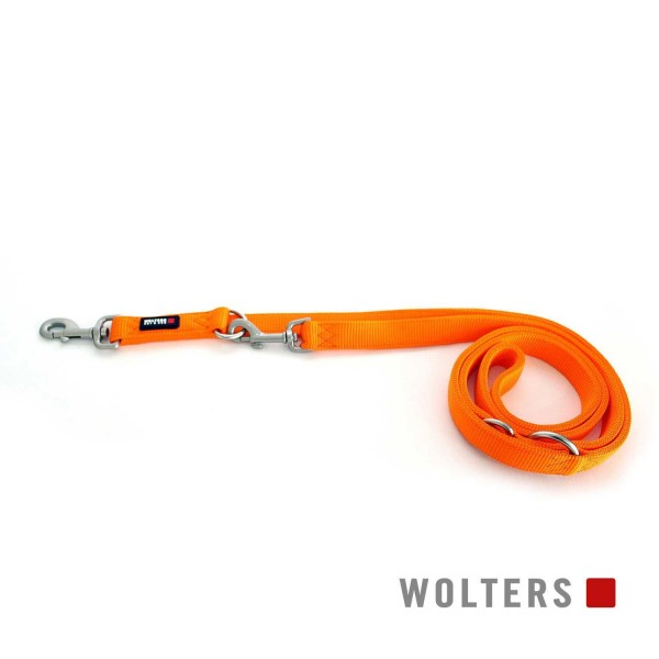 WOLTERS Leine Prof.Classic M 200cm x 15 mm mango
