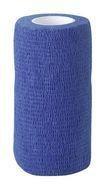 Equilastic selbsthaftende Bandage 10 cm blau