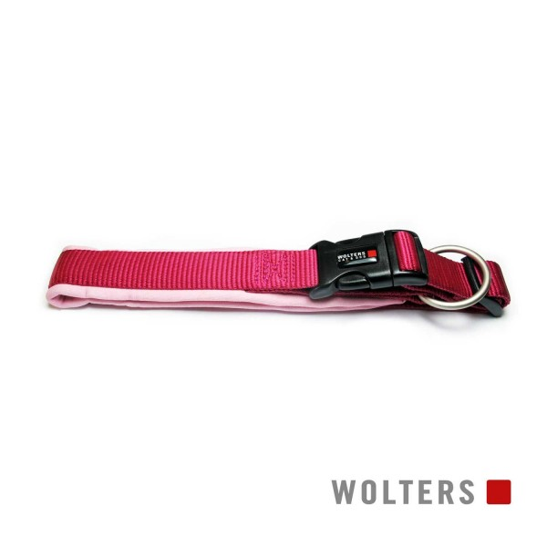 WOLTERS Halsband Prof. Comfort 20-24cm himbeer/ros