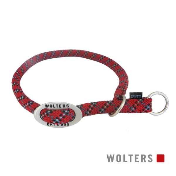 WOLTERS Schlupfhalsband Everest rot/schwarz 55
