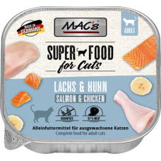 MAC´s Cat Schale Lachs & Hühnchen 85g