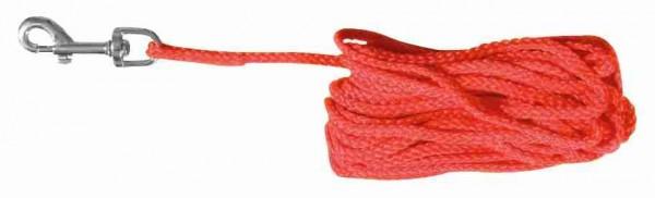 Trixie Schleppleine Nylon rund 10 m ø 5 mm rot